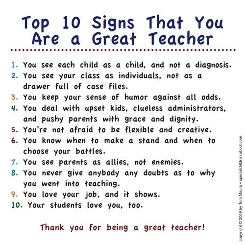 Here's How to Celebrate Teacher Appreciation Week | To be, Signs ...