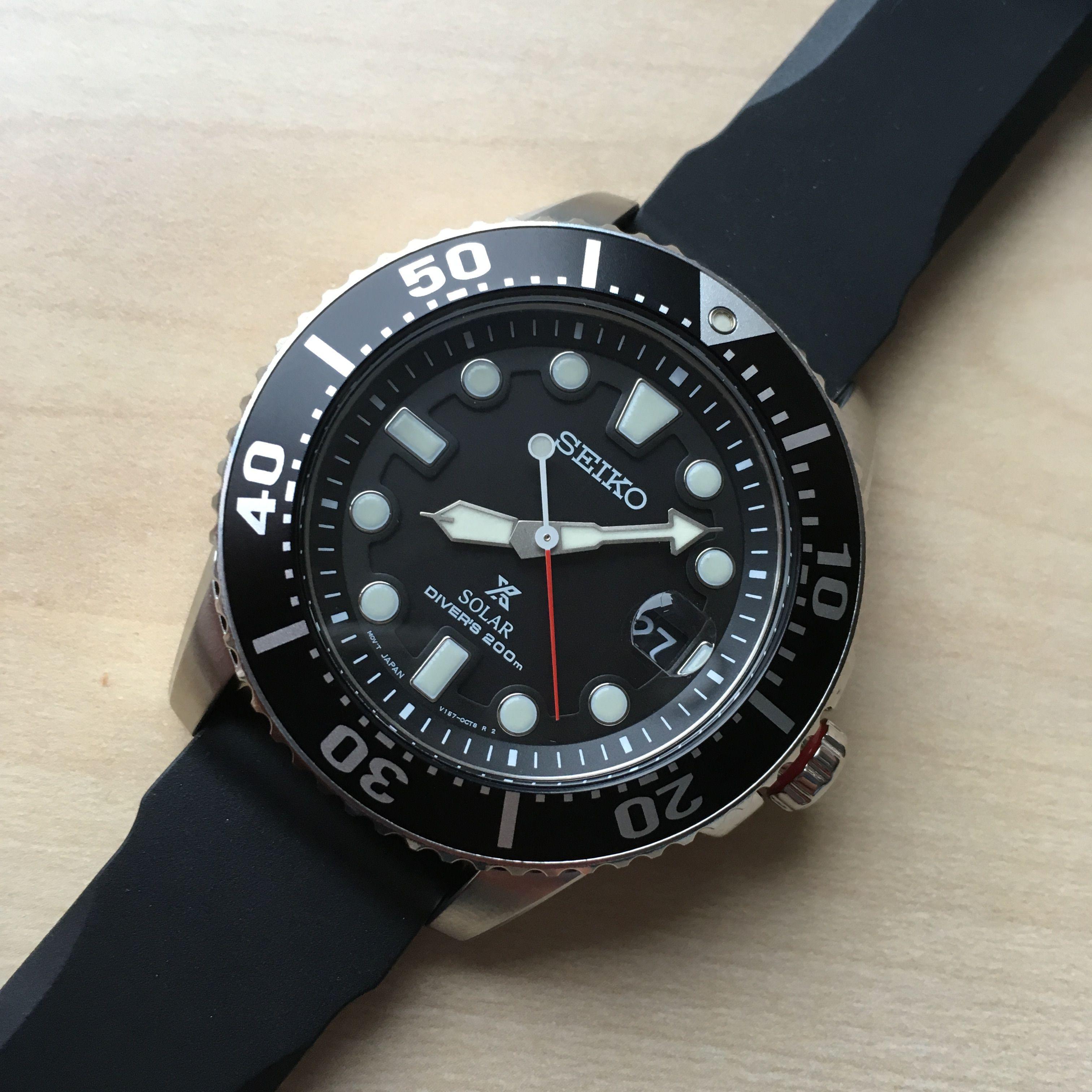 Seiko Prospex SNE437 Solar Diver 200m