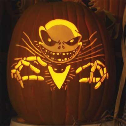 jack skellington pumpkin stencil jack nightmare before christmas