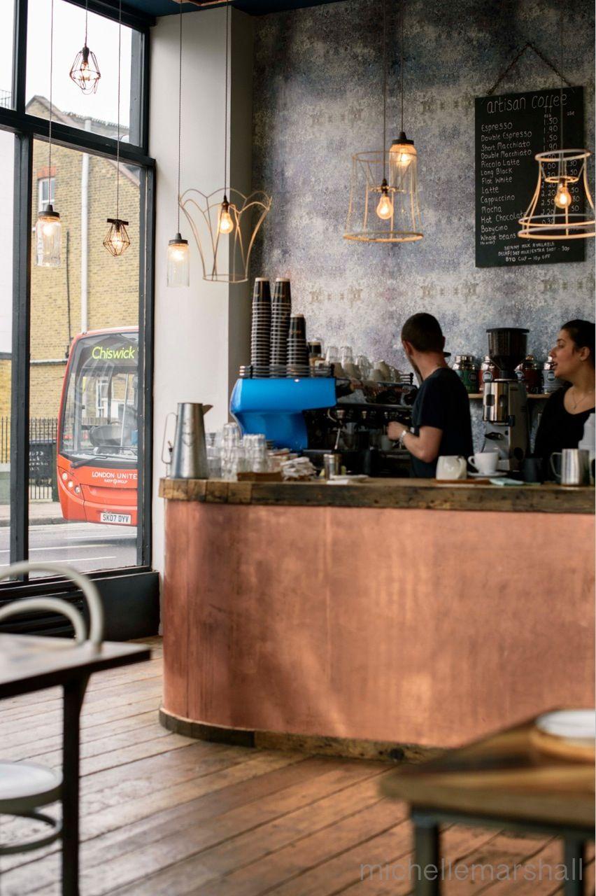 Artisan london restaurant bars caf pinterest tresen theken und kupfer - Kupfer deko wohnzimmer ...