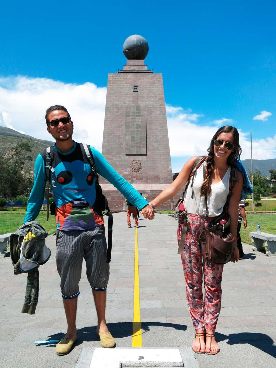 The Borderless Project Quito Ecuador Standing On The Equator