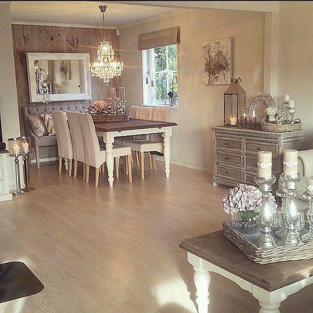 Esszimmer, Einrichten Und Wohnen, Wohnzimmer Ideen, Küche Und Esszimmer,  Süß, Haus, Moderner Landhausstil, Spa, Nordischer Stil