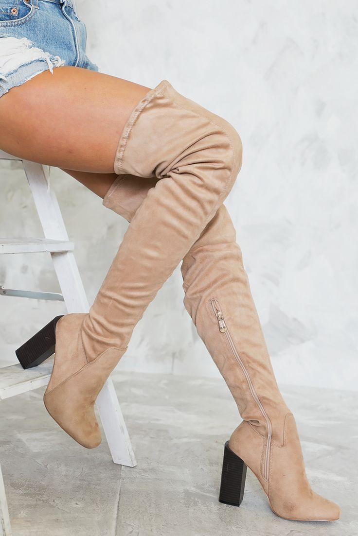 Frye Ray Fringed Suede Over-The-Knee Boots | Boots, Over