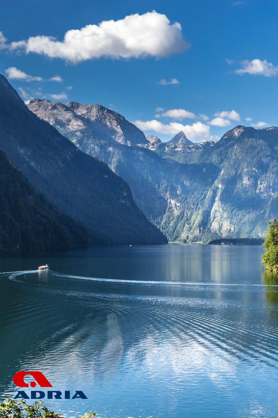 Deutschland Entdecken Der Konigssee In 2020 Rotes Dach Watzmann See
