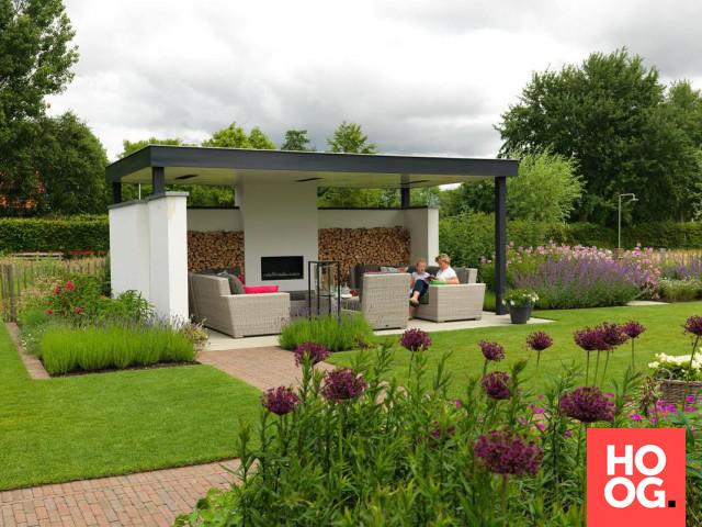 Tuinplanten moderne tuin | veranda ideas outdoor | veranda interieur ...