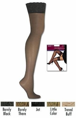bc8ccaa757f Hanes Silk Reflections Women`s Lace Top Thigh High ♥