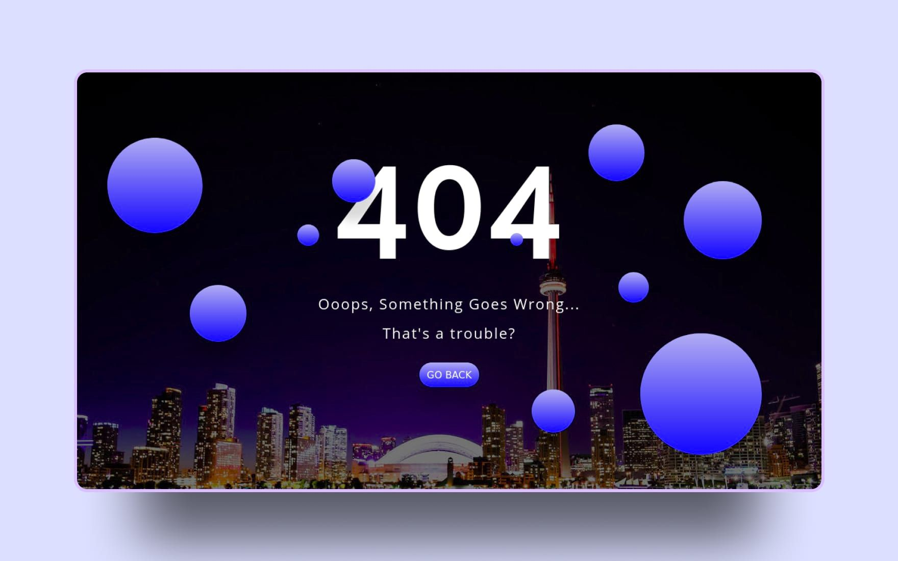 100 Best 404 Error Page Templates 2020 Templates Page Template Error Page