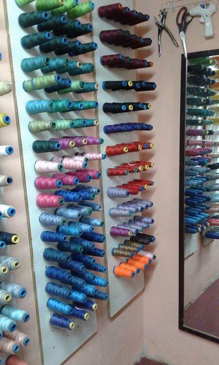 Organizador de hilos organizacion pinterest for Mueble organizador de costura