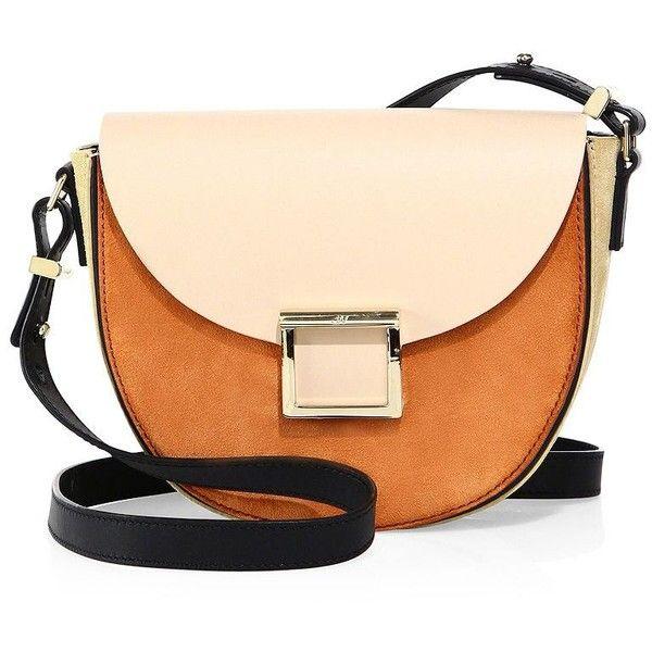 Jason Wu Women's Mini Jaime Two Tone Leather Saddle Bag