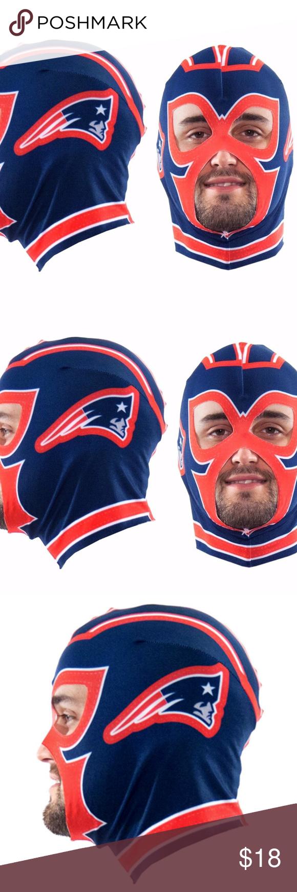 New England Patriots Nfl Fan Mask Wrestling Nfl Fans New England Patriots Nfl