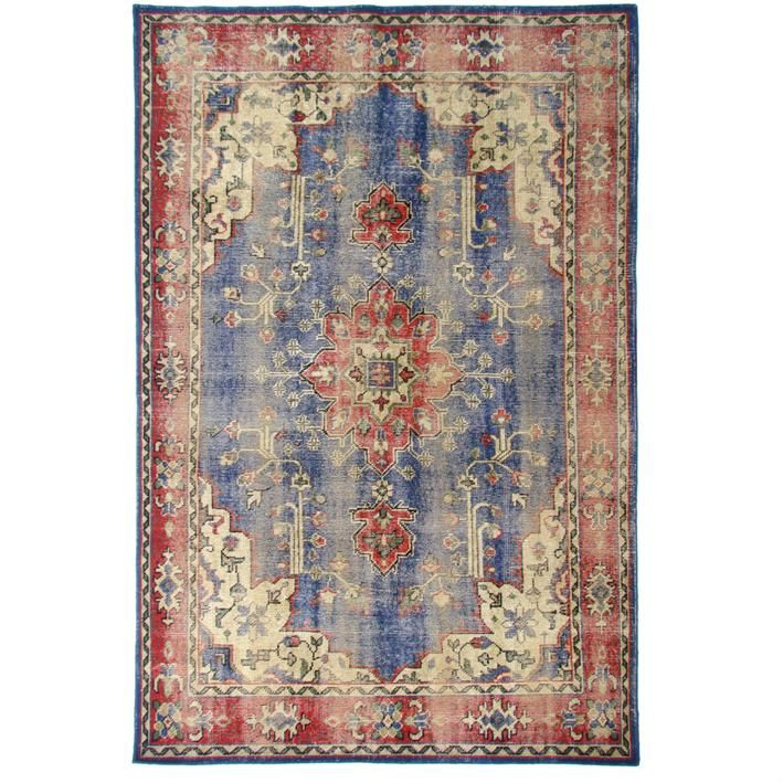Description The Oriental Overdyed Rug Is One Of Many
