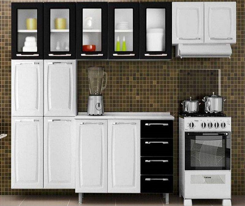 Cozinha Receitas Conjunto Cozinha Itatiaia Criativa Com Vidro