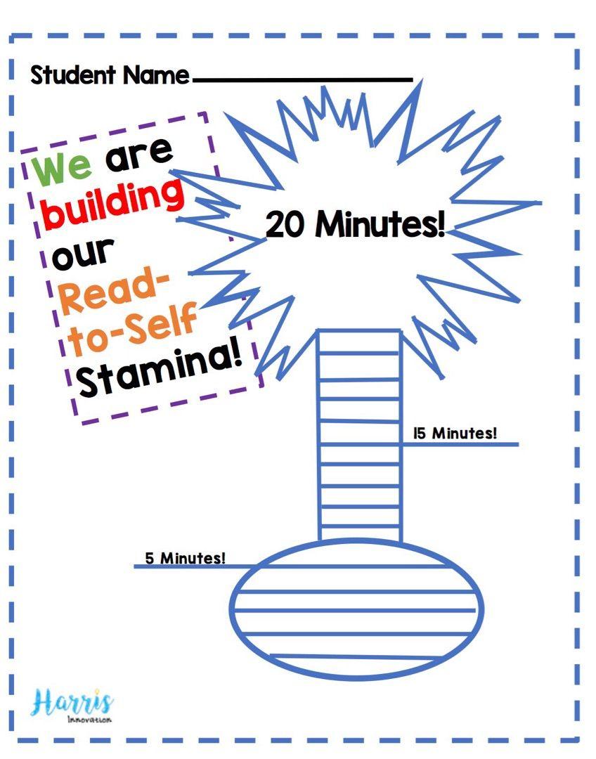 Read To Self Goal Sheet Read To Self Teaching Reading Reading Horizons [ 1080 x 848 Pixel ]