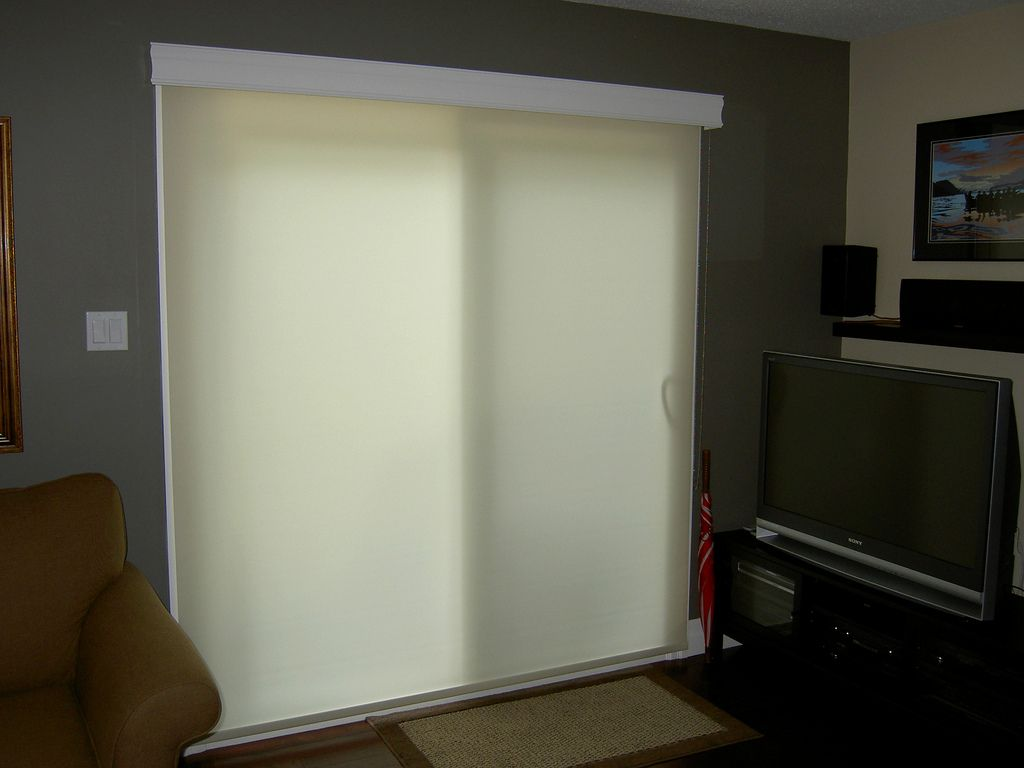 Custom Roller Shade With Wood Valance Wood Valance Valance And Woods