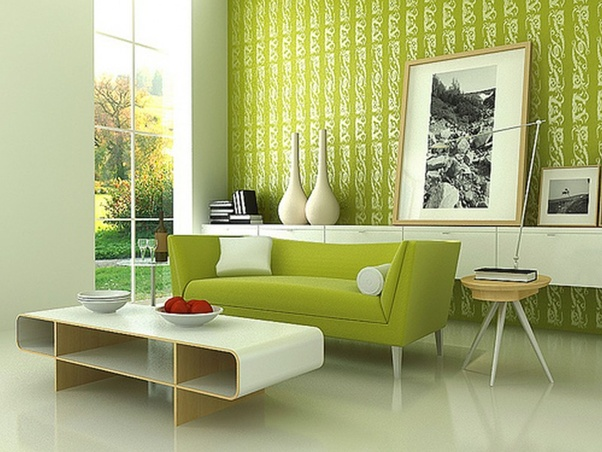 8 What Is A Green Interior Design Quora Green Walls Living Room Paint Colors For Living Room Living Room Paint