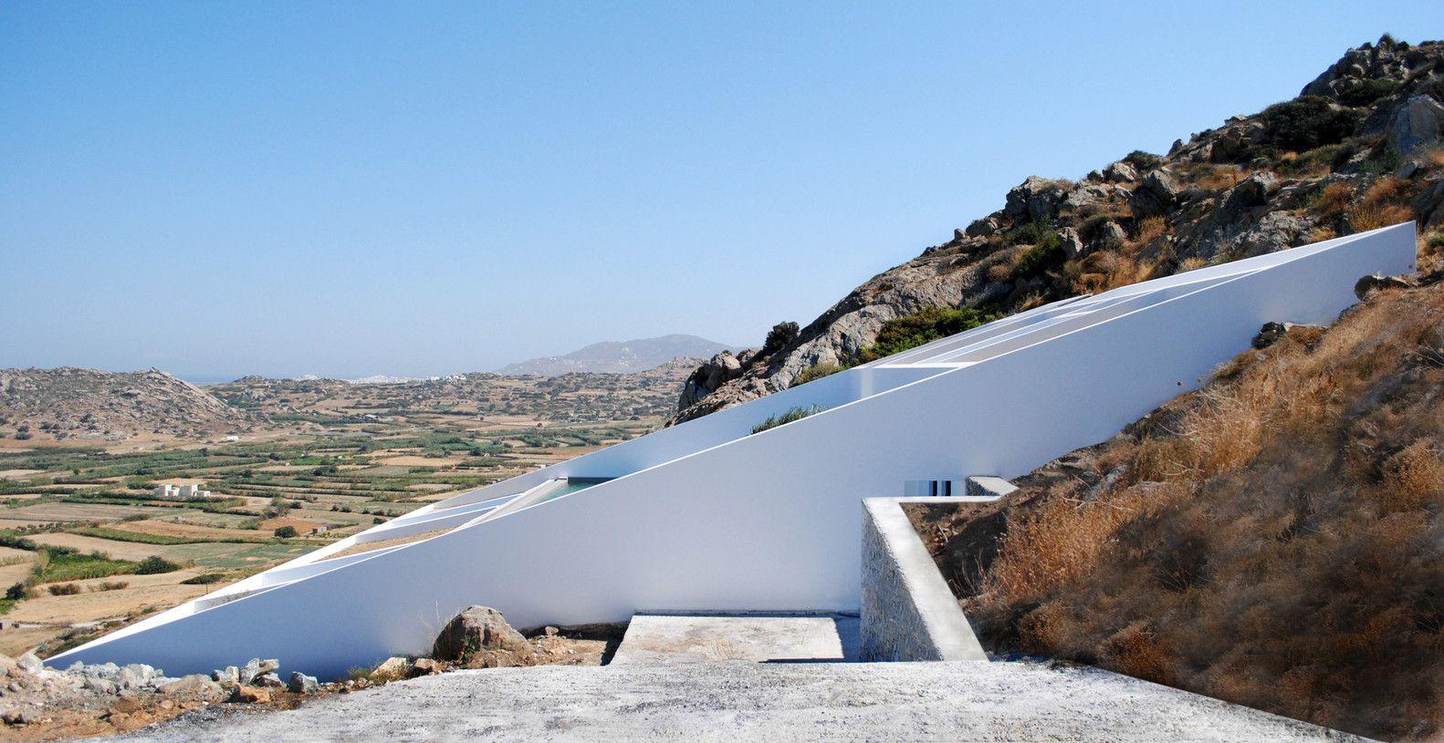 Casa de Verano en Naxos,Courtesy of Katerina Kritou & Nikolaos Platsas