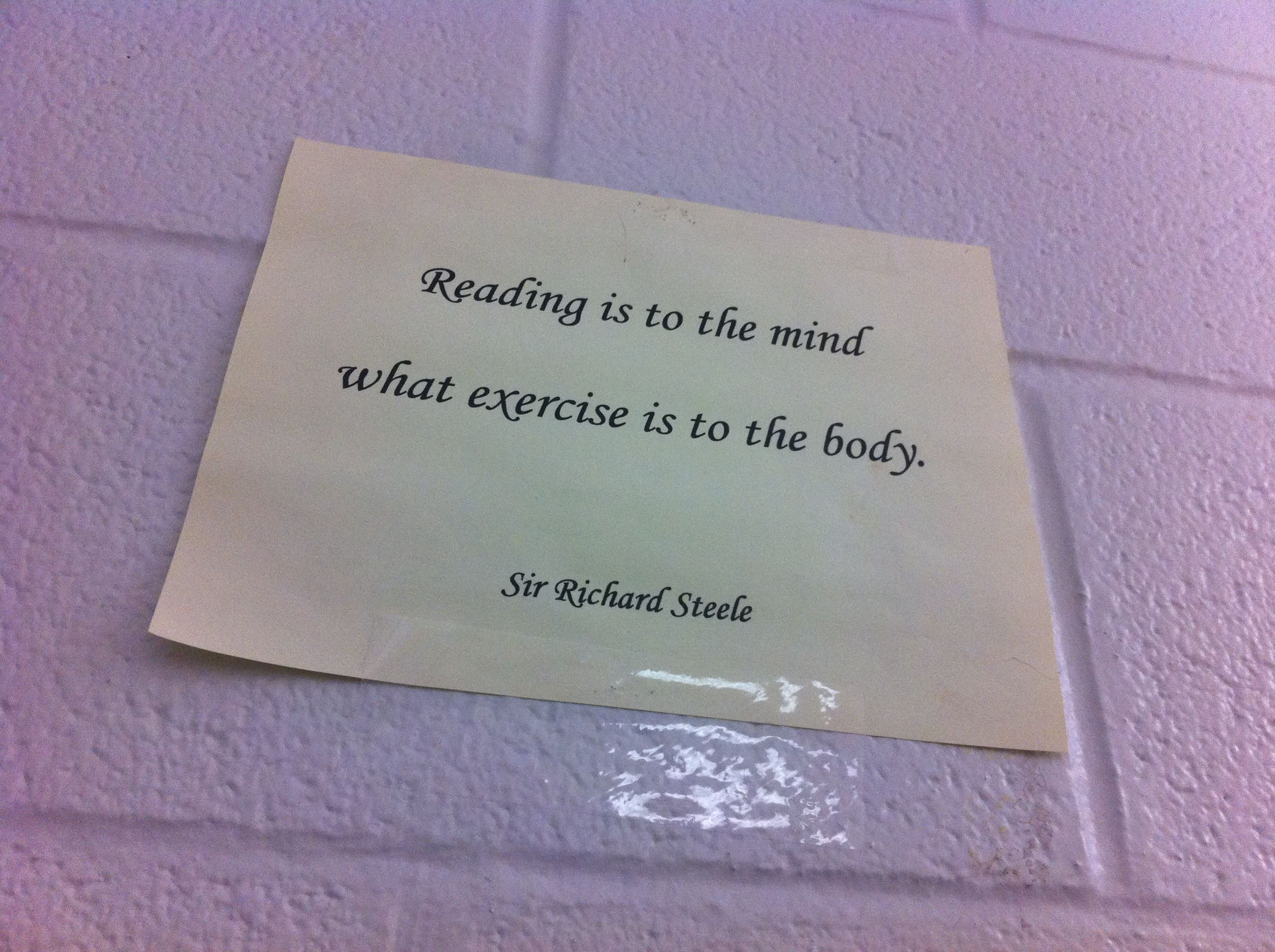 Nice Quote On An English Literature Classroom English Literature Classroom English Decor Teaching English