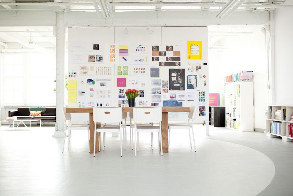 Agnes Graphic Design Studio Design Studio Workspace Design