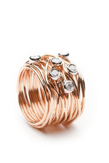 a0b4fc46e568 Mattioli Tibet Ring with Diamonds by Mattioli from Amanda Pinson Jewelry