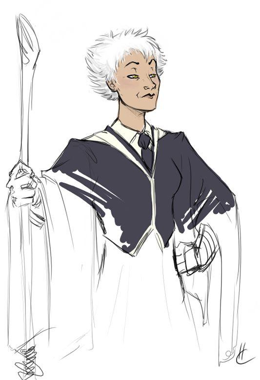 Madam Hooch Harry Potter Fan Art Harry Potter Illustrations Harry Potter Art