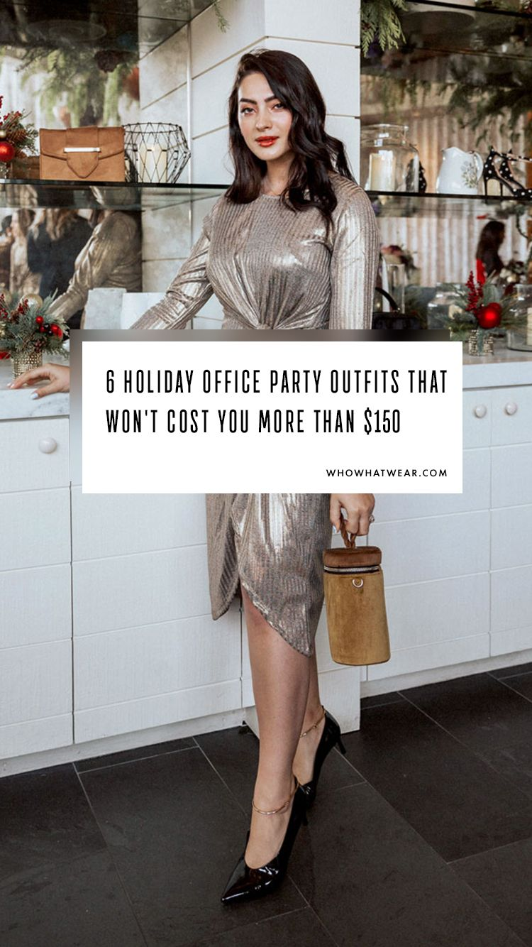 0c7478acf05e 6 Office Holiday Party Outfits That Won t Cost You More Than  150 ...
