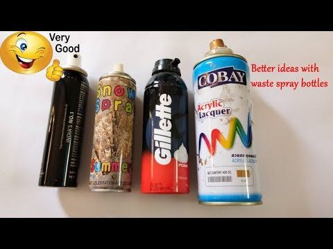 Skcrafts Best Out Of Waste Spray Bottle Craft Ideas How T Sk