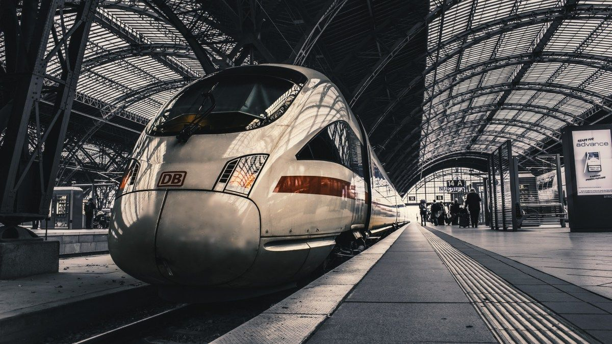 IntercityExpress Hauptbahnhof, Leipzig, Zug