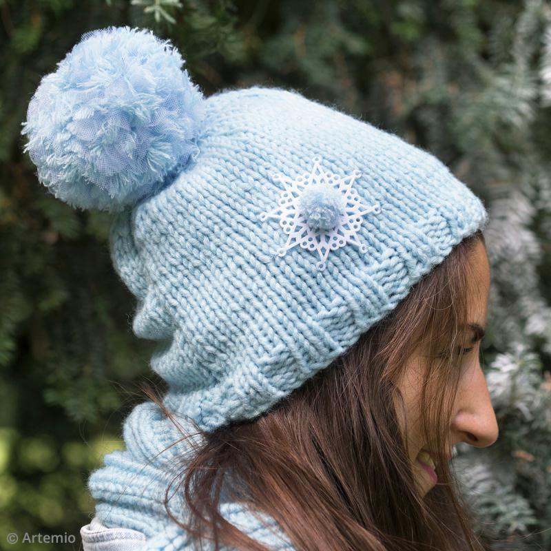 Gut bekannt Tuto facile : customiser son bonnet en laine - Idées conseils et  ZT03