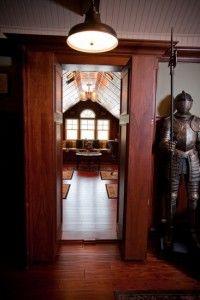 Hidden Room Behind Secret Bookshelf Doors