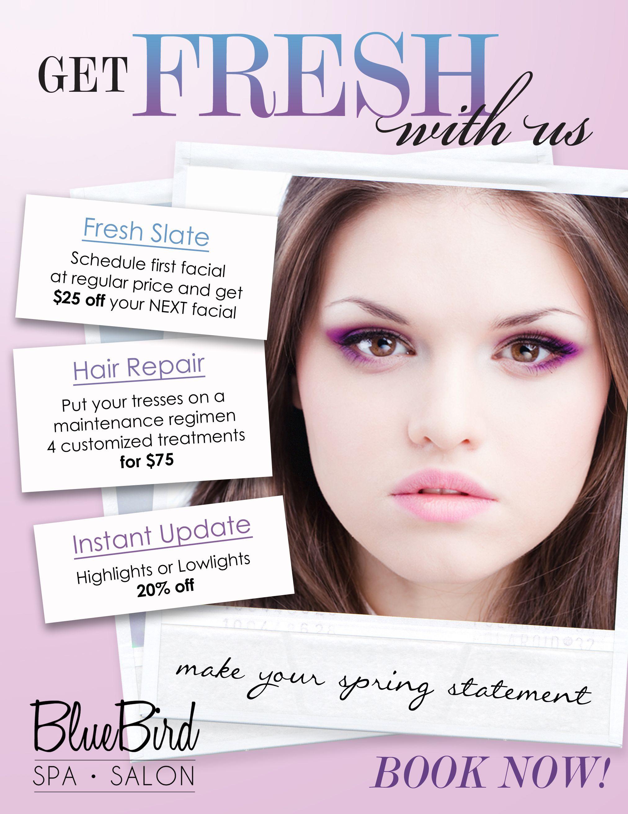 Salon Promotions Beauty Marketing Pinterest Salons Voucher My Branding Ideas Spa Promo Glamour