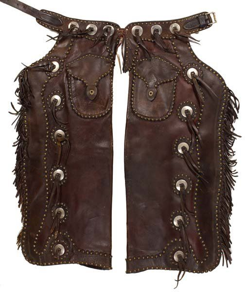 c56665bfd89 445: Riley & McCormick Very Decorative Chaps | Vintage Chaps ...