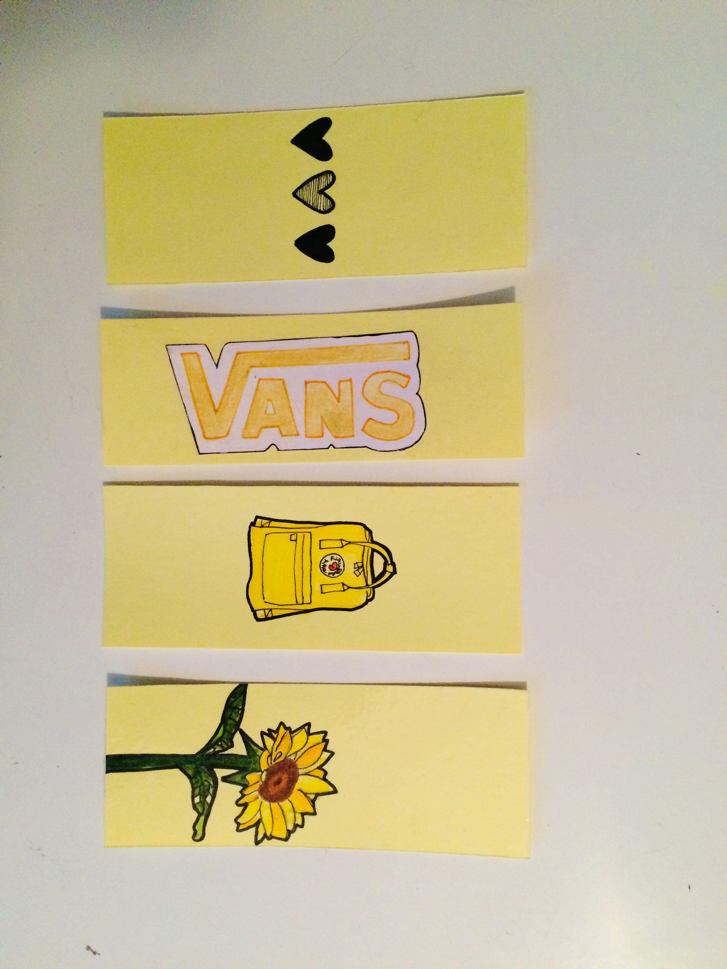 Yellow Aesthetic Bookmarks Bookmarks Diy Art Yellow Aesthetic