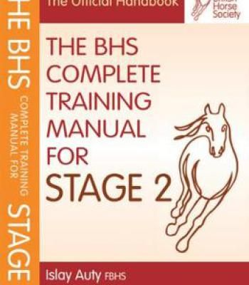 Bhs Complete Training Manual For Stage 2 PDF Animals Pinterest - training manual