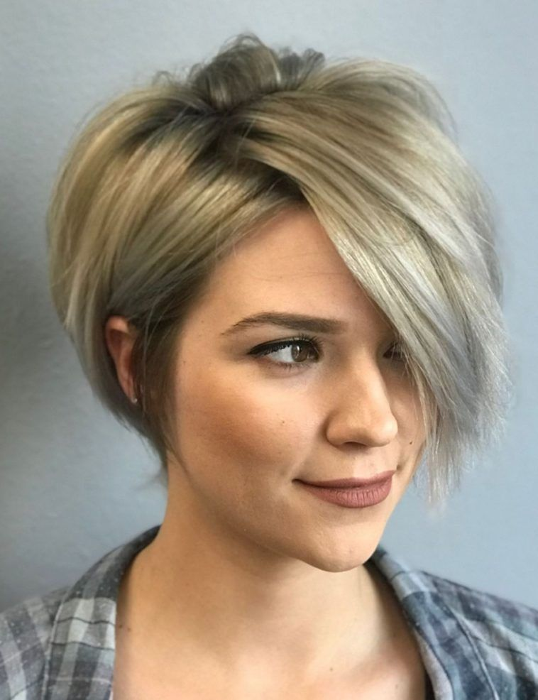 20 Inspiring Short Hairstyles For Fine Hair In 2020 Thick Hair Styles Thin Hair Haircuts Short Bob Hairstyles