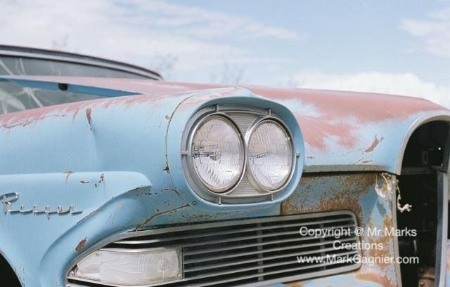 Headlights from a classic