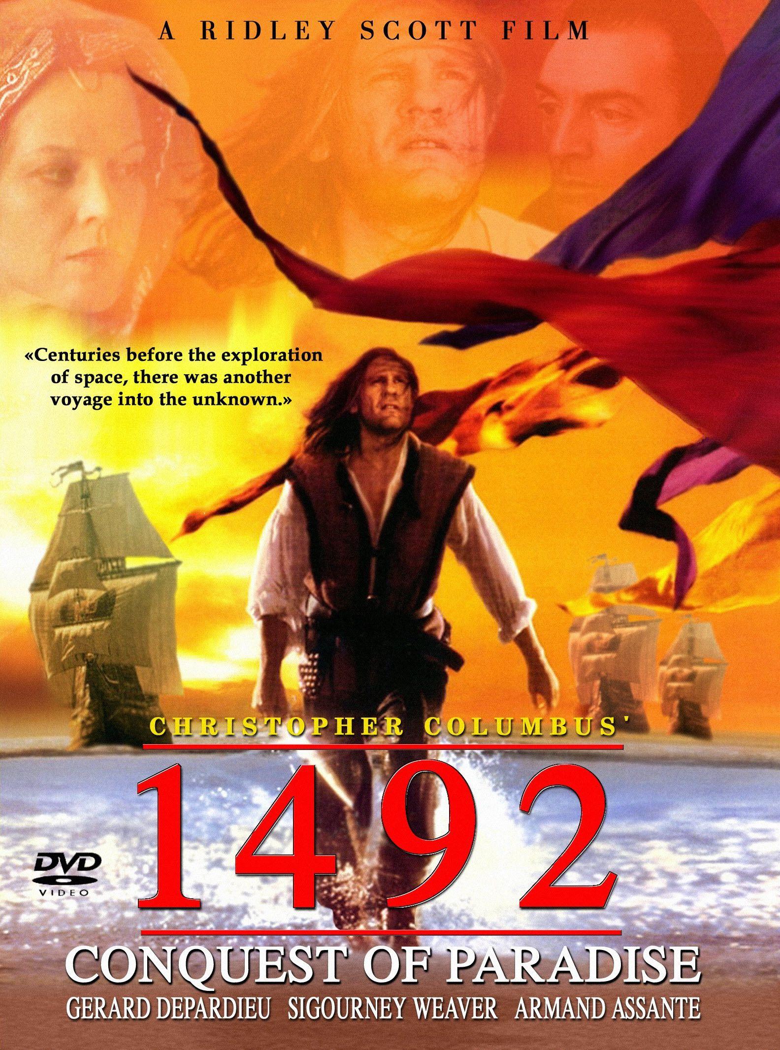 1492 Conquest of Paradise [1992] | Conquest of paradise ...