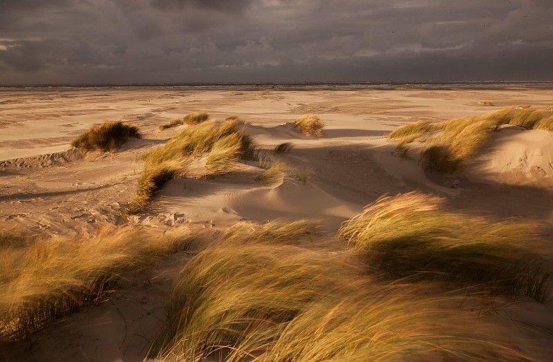 Storm op Schiermonnikoog