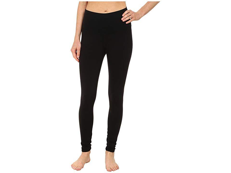 a8d4883038b ALO High Waist Airbrushed Leggings (Black) Women's Casual Pants ...