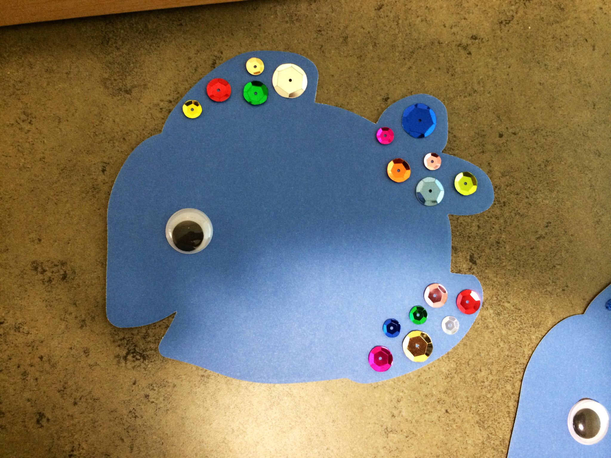 Rainbow Fish Name Tags For Cubbies
