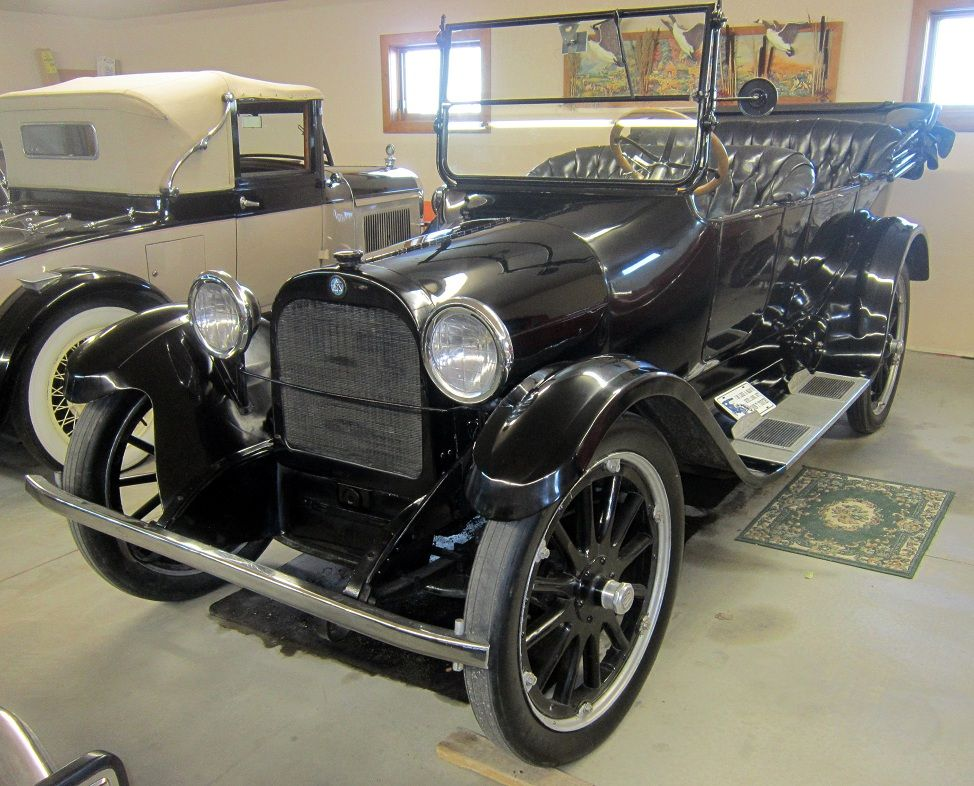 This 1919 Dodge Brothers sedan is the actual car used in the ...