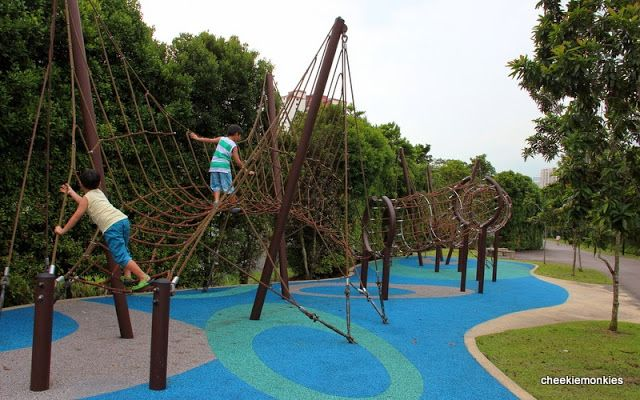 Singapore Parenting Lifestyle Blog Singapore S Best Outdoor Parks For Kids Cheekie Monkies Outdoor Park Linear Park Playground Singapore