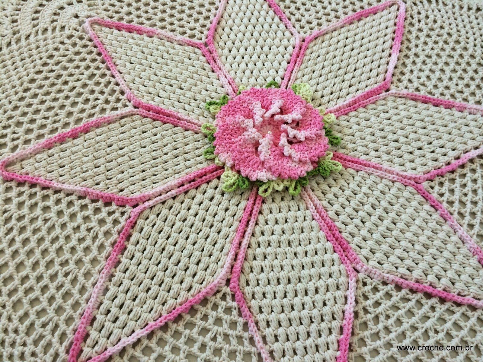 Resultado de imagem para artesanato como fazer em casa passo a passo flores e rosas em croche com grafico