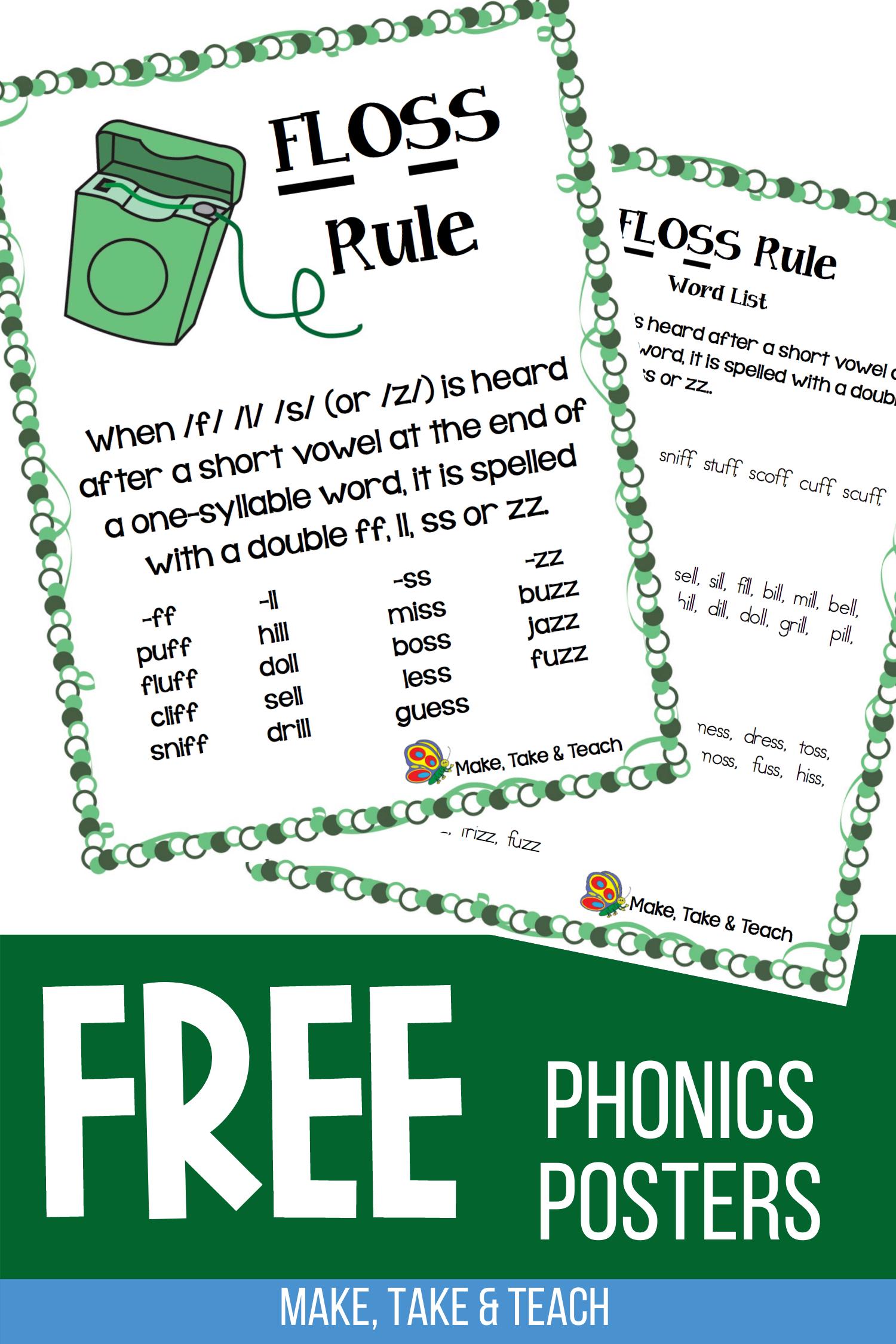 Teaching The Floss Spelling Rule