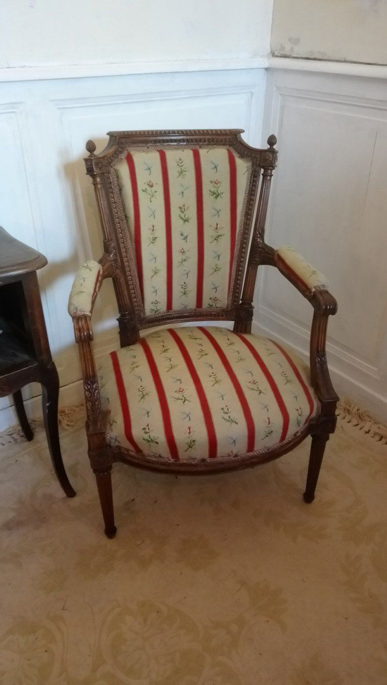 Styles Fauteuils Antique French Chair Pretty Louis Xiv Style Fauteuil Armchair With