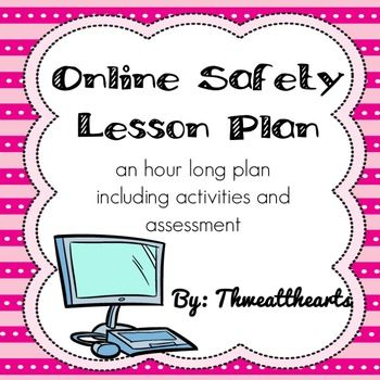 Online Safety Digital Footprint Lesson Plan  Activities