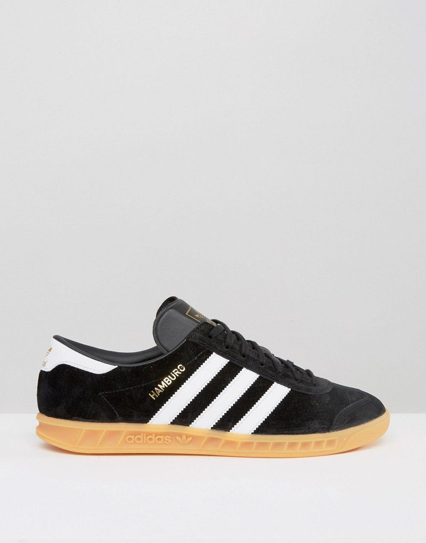 brand new a7c04 1a2ca adidas Originals Hamburg  Sneakers adidas Hamburg  Pinterest