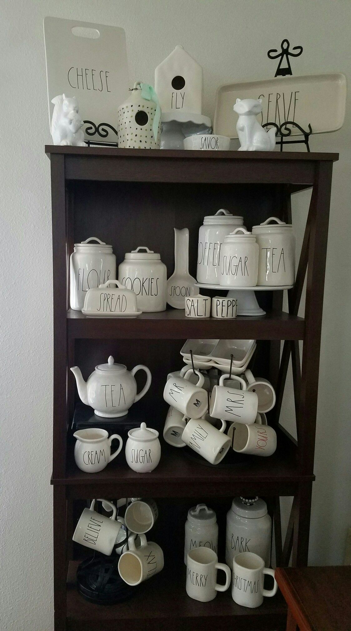 agratefulsoul posted her collection from rae dunn of gorgeous clay my updated rae dunn collection