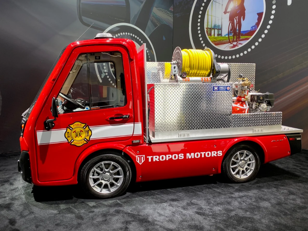 Tropos Motors Makes A Splash At CES With New LastMile