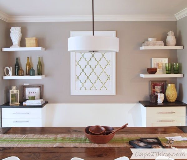build your own banquette — with ikea cabinets  banquette