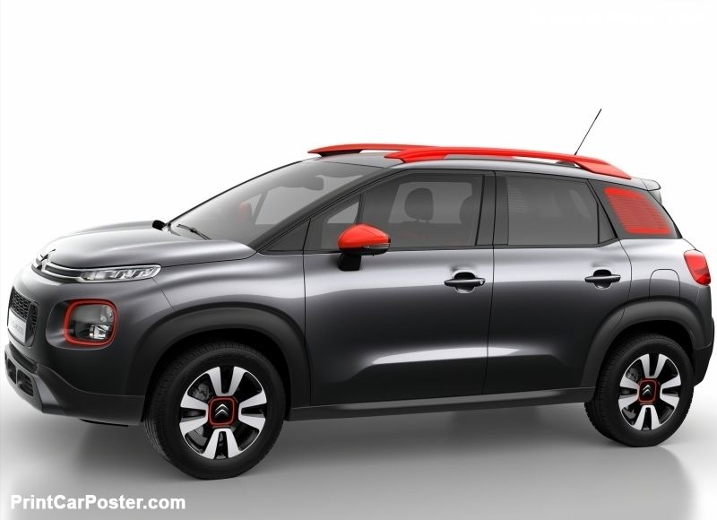 citroen c3 aircross 2018 poster c3 pinterest citroen ds compact suv en cars. Black Bedroom Furniture Sets. Home Design Ideas